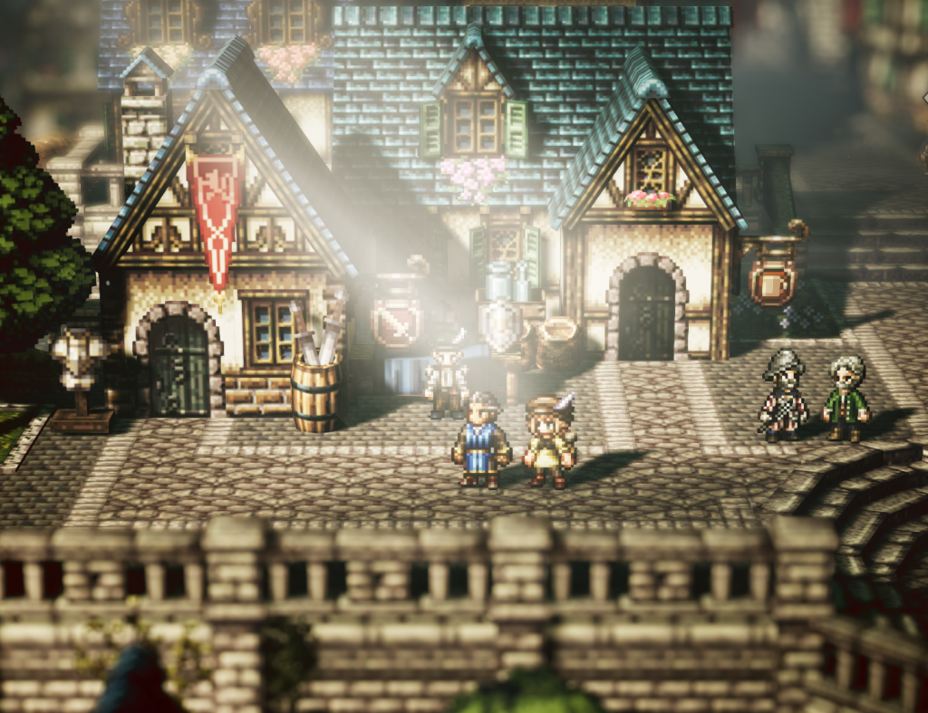 Octopath traveler towns