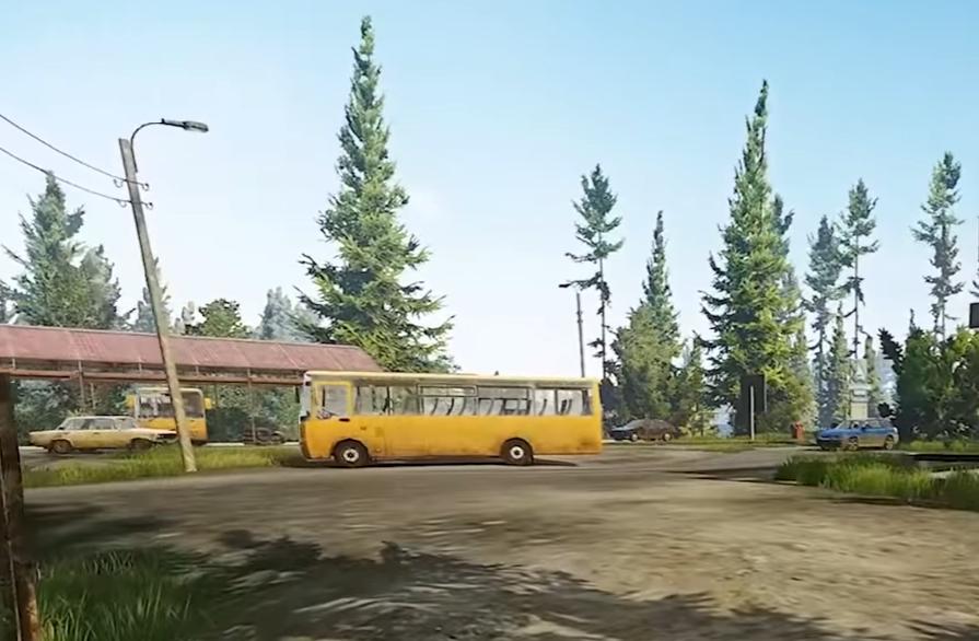 Tarkov shoreline map - bus terminal