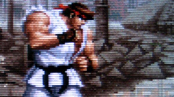 Street Fighter CRT Monitor