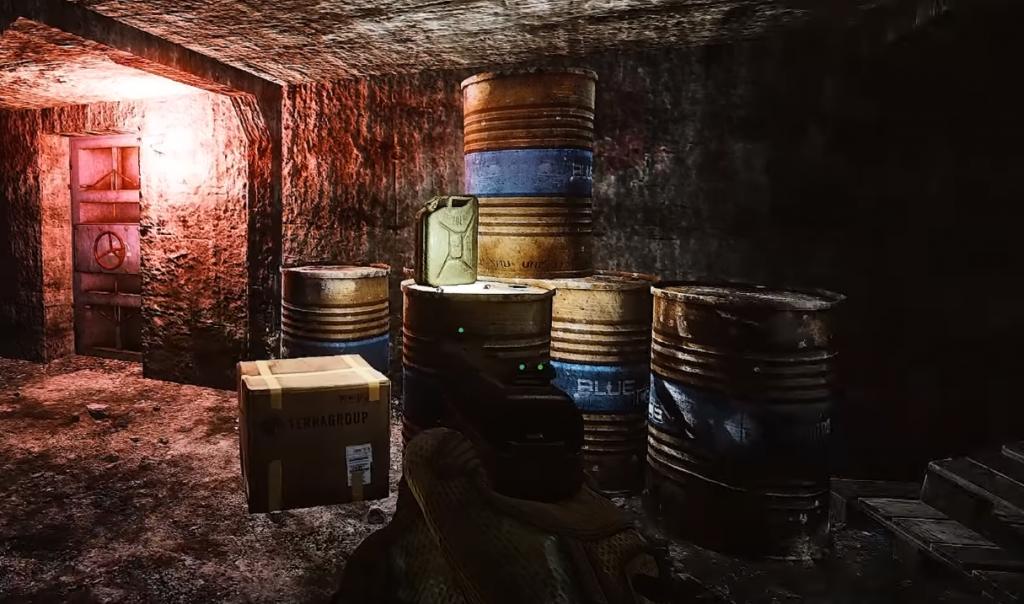 Tarkov - Camera Bunker Door