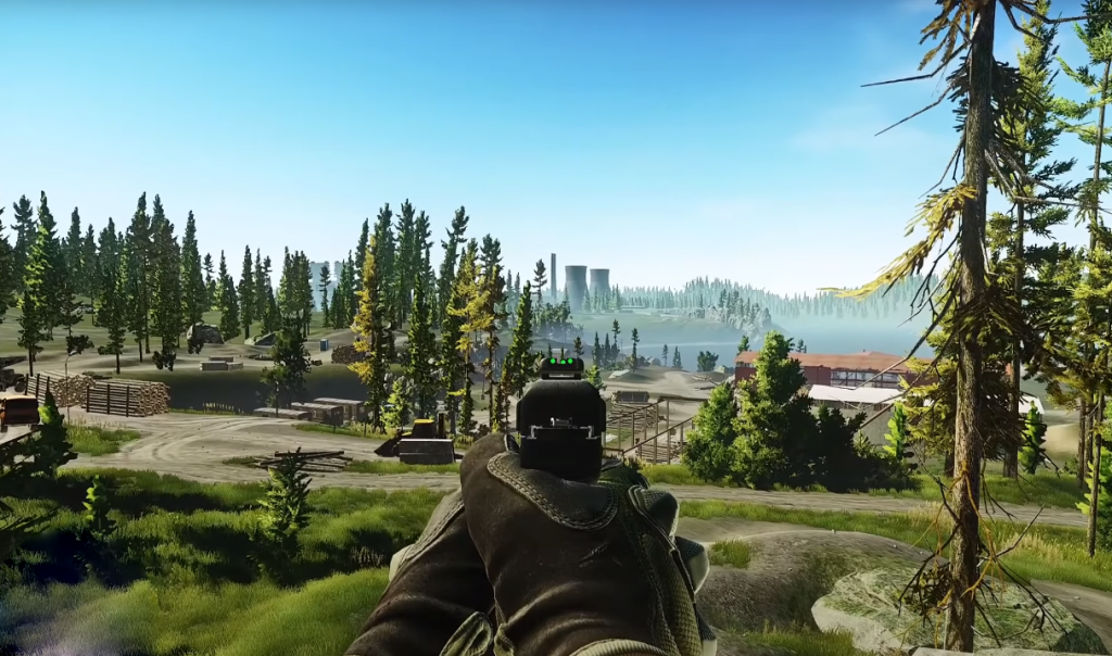 escape from tarkov woods map