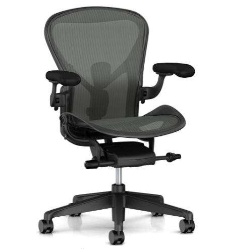 Shroud gaming chair - Herman Miller Aeron