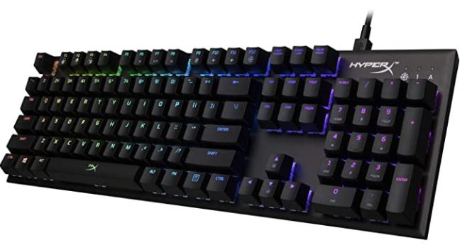 Shroud Keyboard - HyperX Alloy FPS RGB